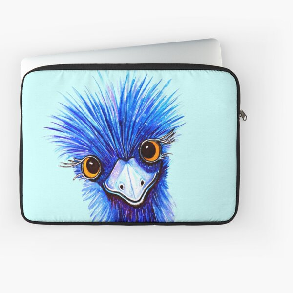 QUIRKY EMU  Laptop Sleeve