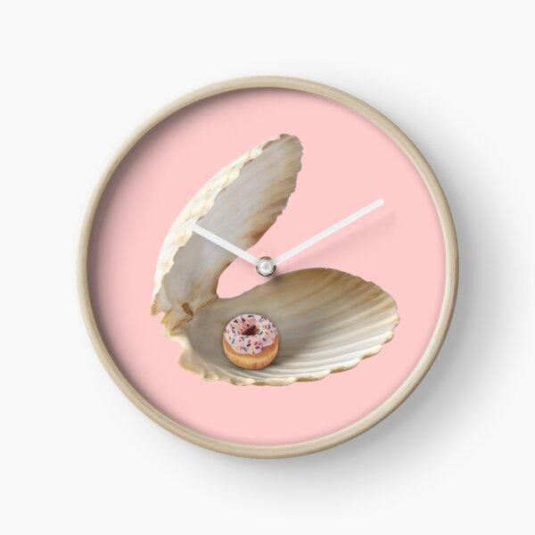Donut Shell  Clock