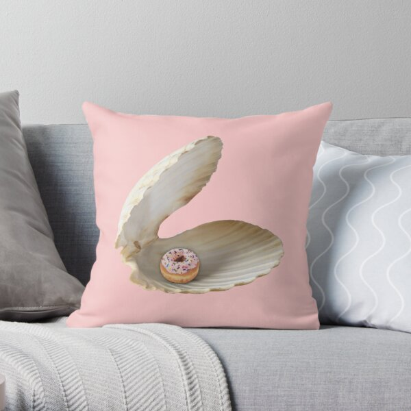 Donut Shell  Throw Pillow