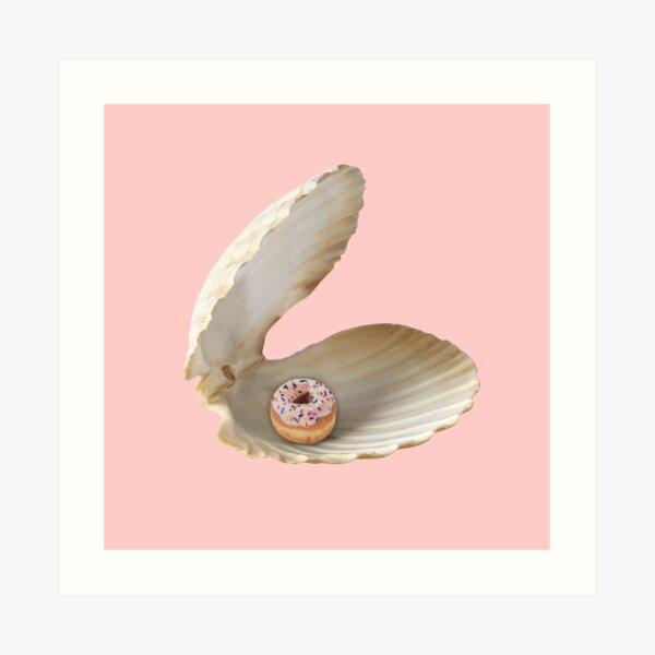 Donut Shell  Art Print