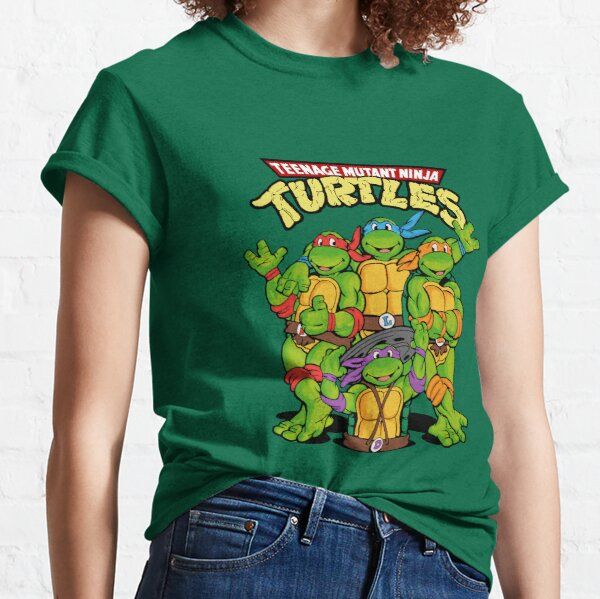 TMNT - Tortues Ninja Teenage Mutant T-shirt classique