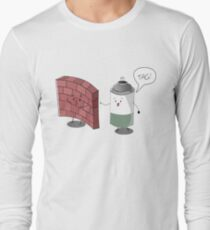 Tag design Long Sleeve T-Shirt