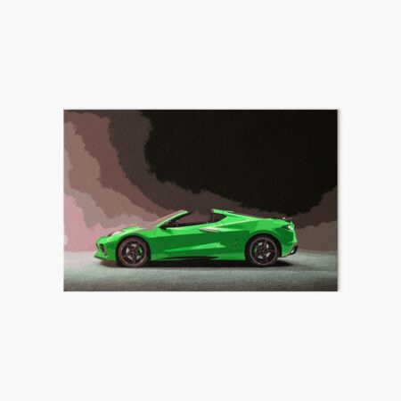 Chevrolet Corvette C8 Art Board Print