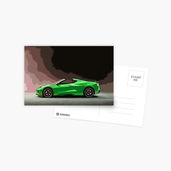 Chevrolet Corvette C8 Postcard