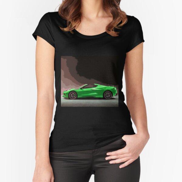 Chevrolet Corvette C8 Fitted Scoop T-Shirt