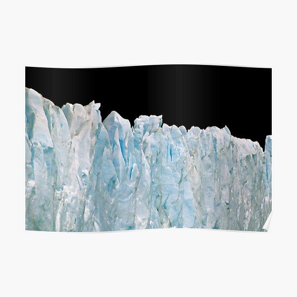 Glacial Elegance Poster
