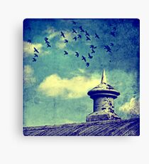 JUST VENTING Canvas Print