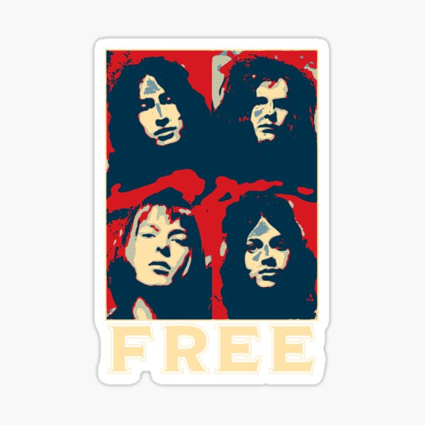 Free The Band Sticker