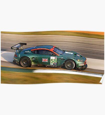 Aston Martin DBR9 Poster