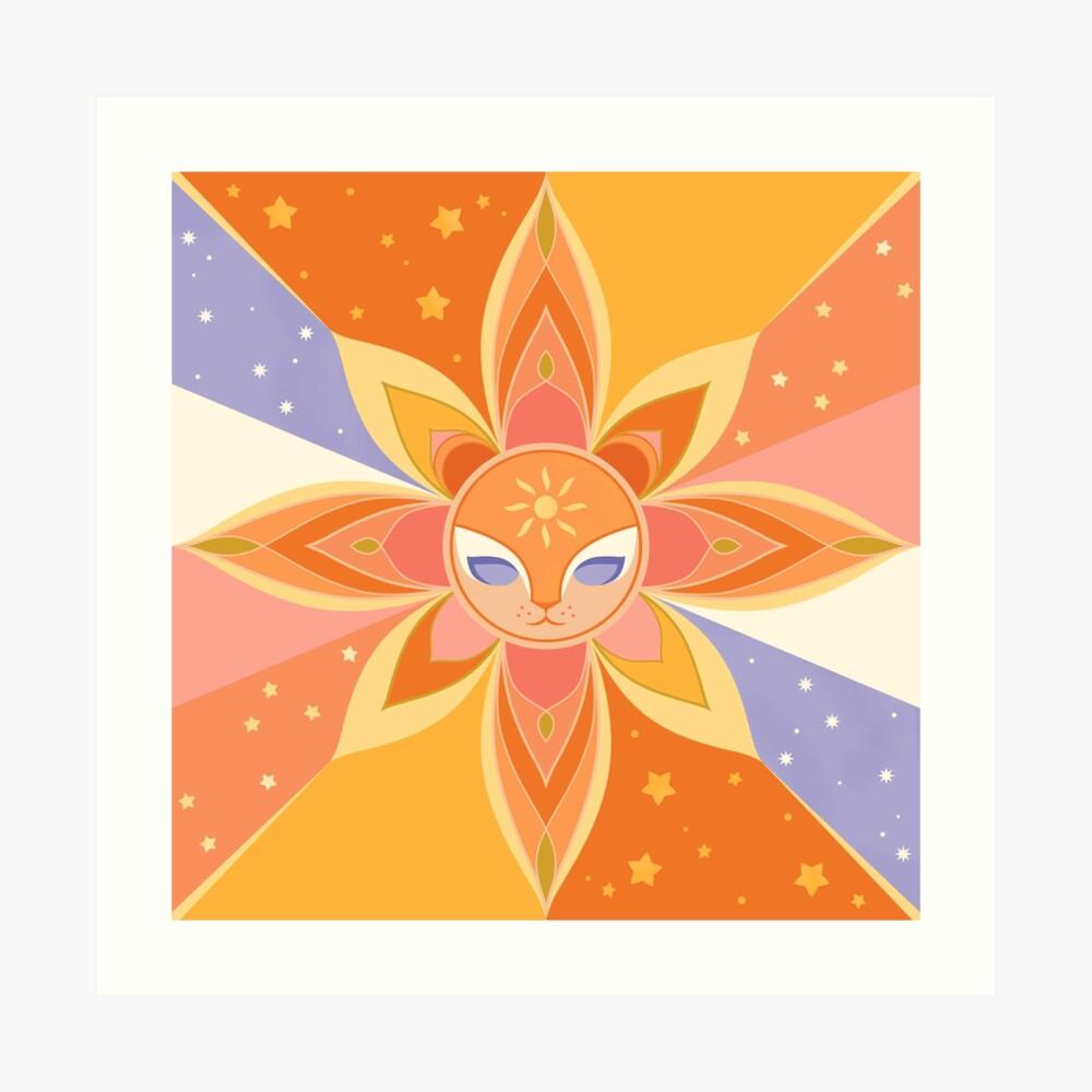 Sun Worshipper Art Print