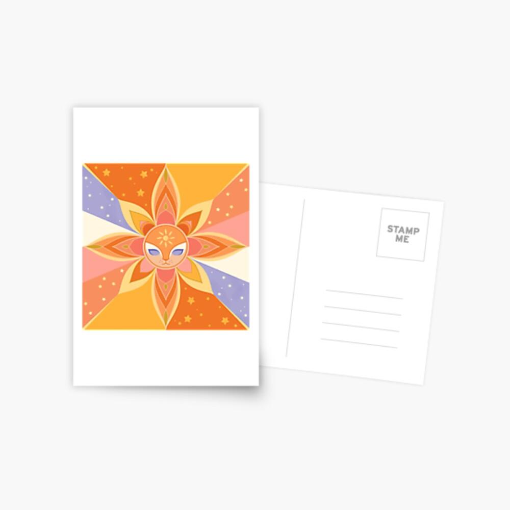 Sun Worshipper Postcard