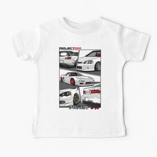 [R]aw Power Champion White Edition | s2k | Integra | Civic | Nsx Baby T-Shirt