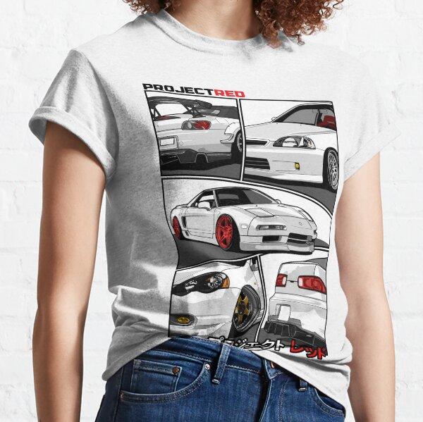 [R]aw Power Champion White Edition   s2k   Integra   Civic   Nsx Classic T-Shirt