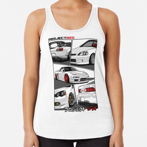 [R]aw Power Champion White Edition Racerback Tank Top