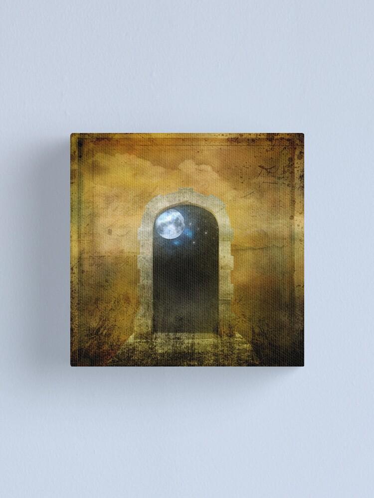 Alternate view of Doorway to Heaven Canvas Print