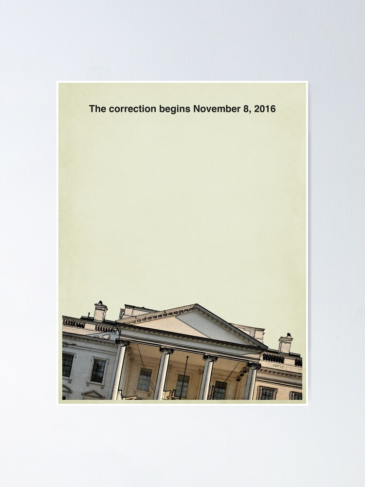 Alternate view of The Correction Poster