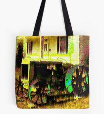 Antique Tractor Tote Bag