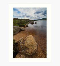 Loch Laidon Art Print
