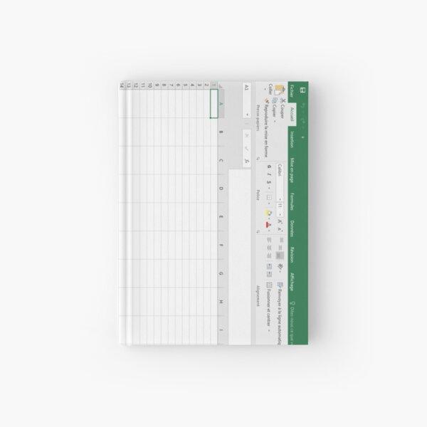 Excel spreadsheet Hardcover Journal