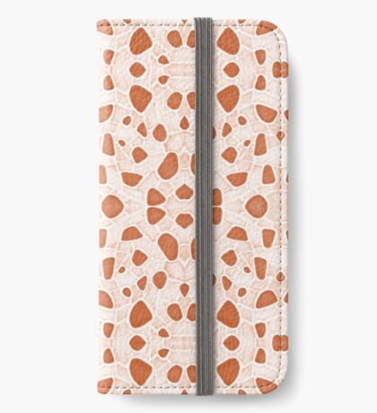 Moroccan Clay Zellige #redbubble #pattern iPhone Wallet