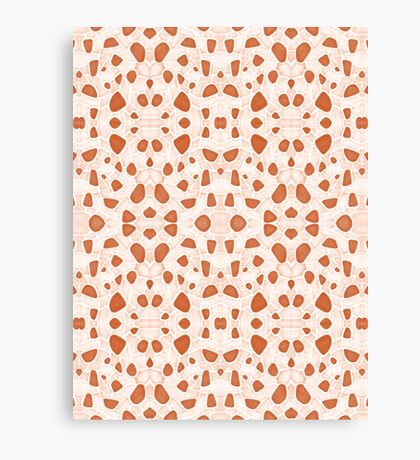 Moroccan Clay Zellige #redbubble #pattern Canvas Print