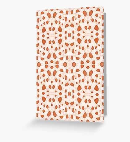 Moroccan Clay Zellige #redbubble #pattern Greeting Card