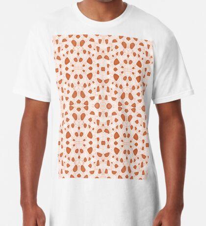 Moroccan Clay Zellige #redbubble #pattern Long T-Shirt
