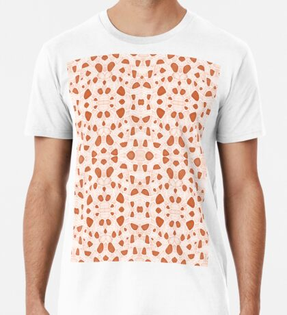 Moroccan Clay Zellige #redbubble #pattern Premium T-Shirt