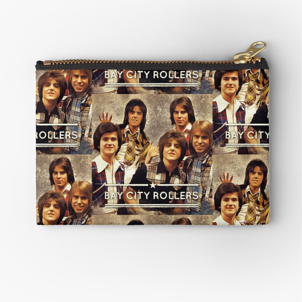 Bay City Rollers Zipper Pouch