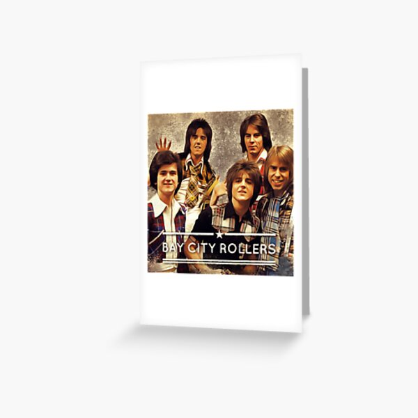 Bay City Rollers Greeting Card