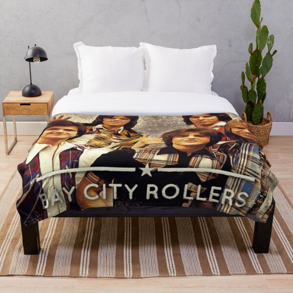 Bay City Rollers Throw Blanket