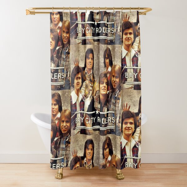 Bay City Rollers Shower Curtain