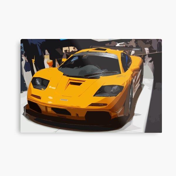 McLaren F1 LM Metal Print