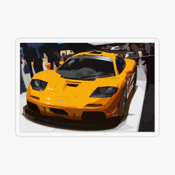 McLaren F1 LM Transparent Sticker