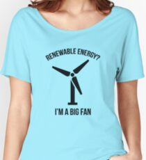 Renewable Energy Women's Relaxed Fit T-Shirt