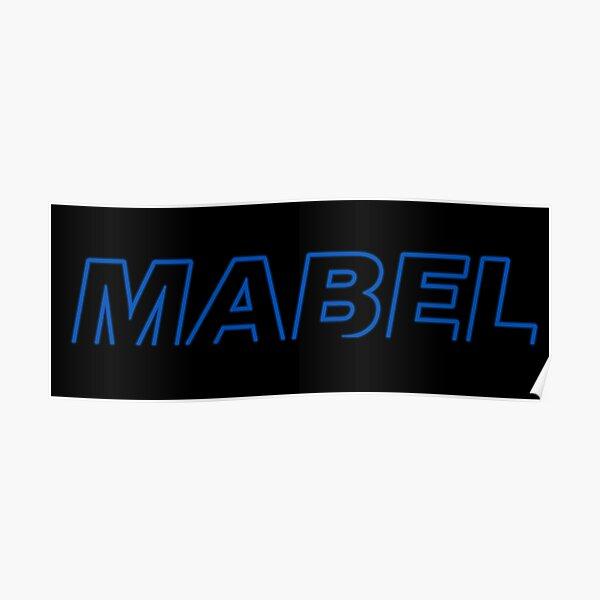 Mabel logo Poster