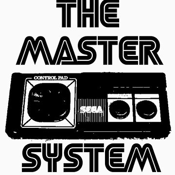 cool Sega Master system pad Tshirt  by damdirtyapeuk