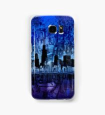 chicago city skyline 4 Samsung Galaxy Case/Skin