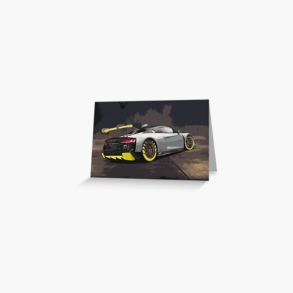 Audi R8 LMS GT2 Greeting Card