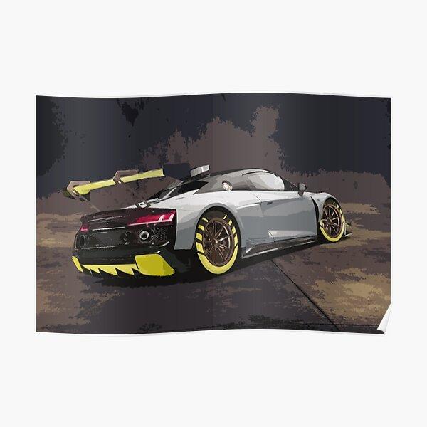 Audi R8 LMS GT2 Poster