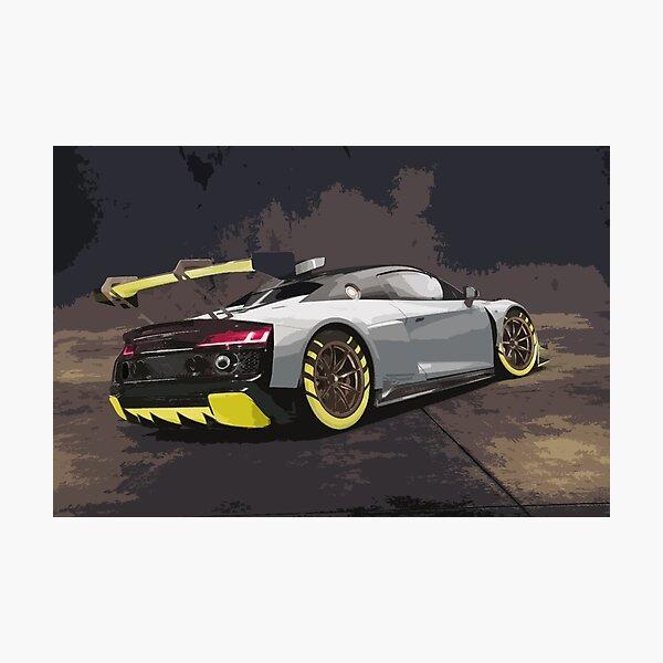 Audi R8 LMS GT2 Photographic Print