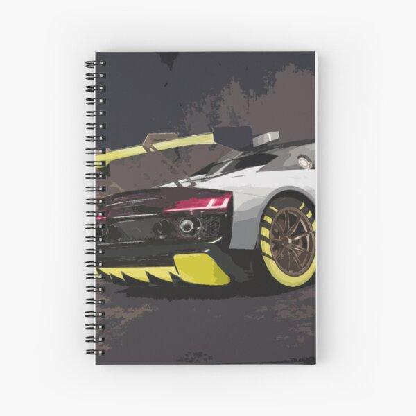 Audi R8 LMS GT2 Spiral Notebook