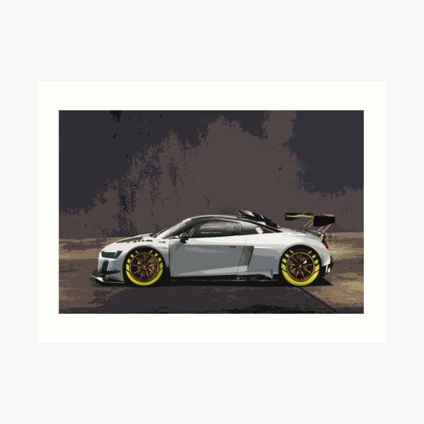 Audi R8 LMS GT2 Art Print