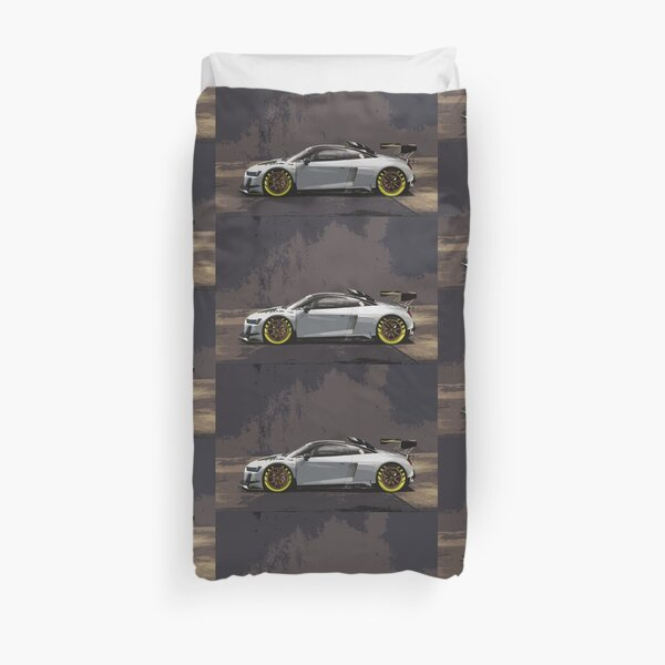 Audi R8 LMS GT2 Duvet Cover