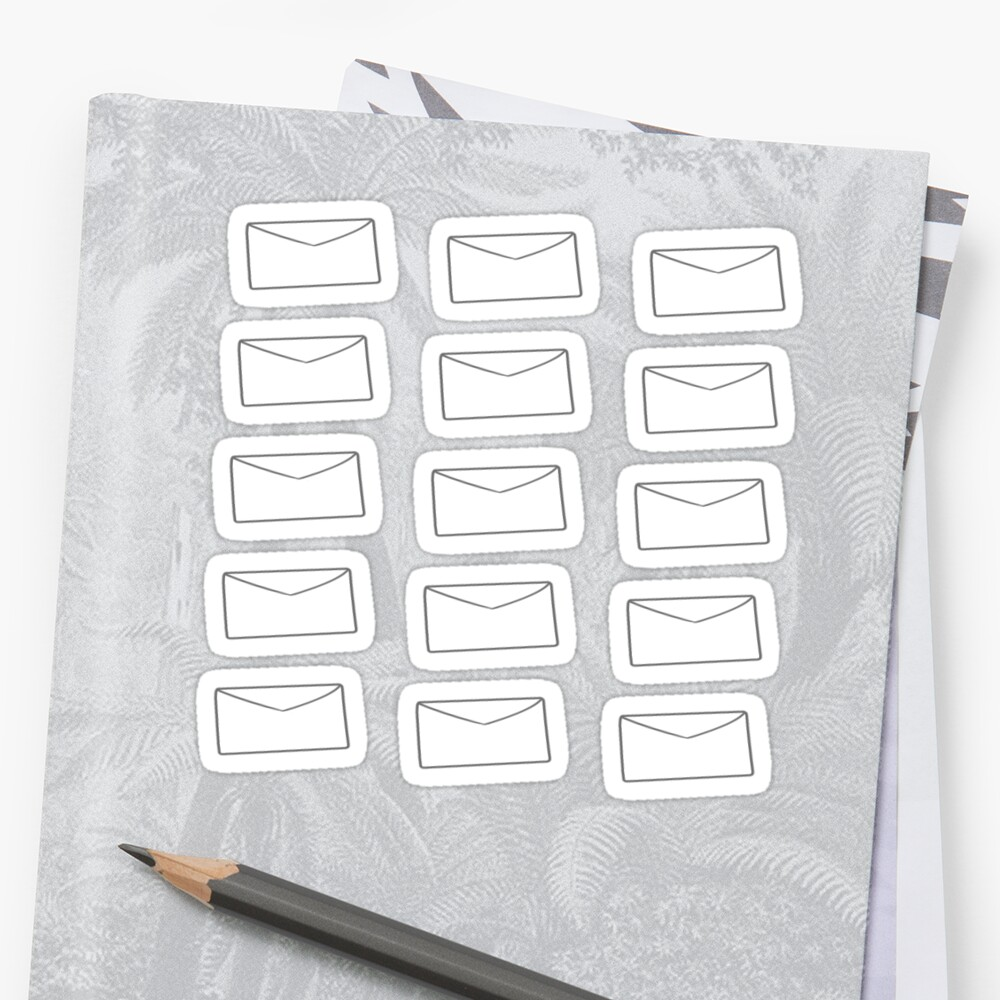 Envelopes Sticker
