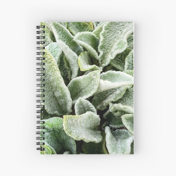 Fury Fronds Spiral Notebook