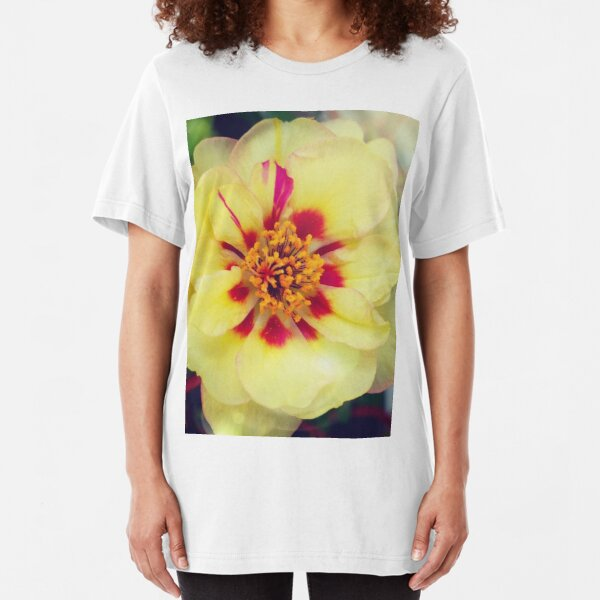 Lovely in the Light: Blooms in Boothbay Harbor Slim Fit T-Shirt