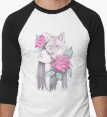 Wild Roses Men's Baseball ¾ T-Shirt