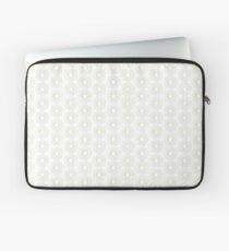 A geometric line-art star design with the colors of the rainbow Laptop Sleeve