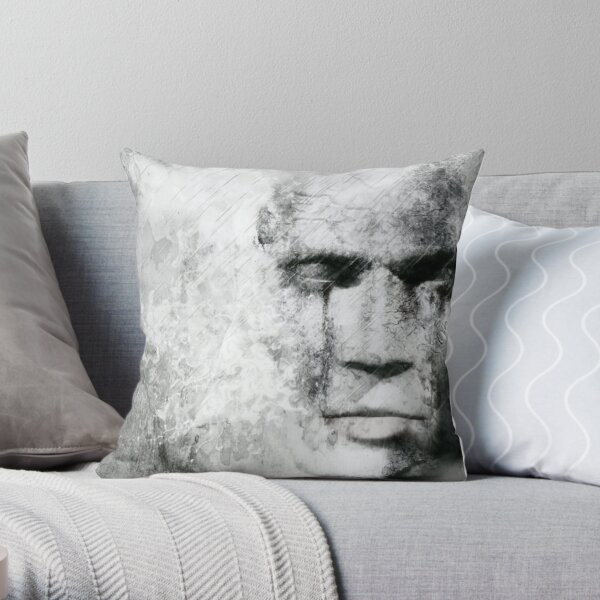 The sound of silence. Throw Pillow